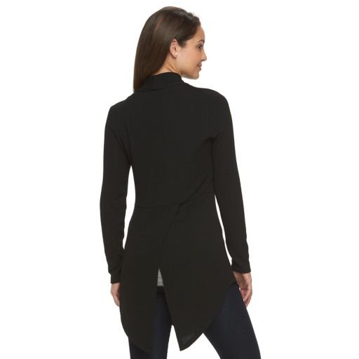 Petite Apt. 9® Split-Back Cardigan