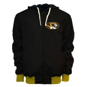 Men's Franchise Club Missouri Tigers Power Play Reversible Hooded Jacket