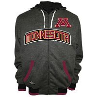 Men's Franchise Club Minnesota Golden Gophers Power Play Reversible Hooded Jacket