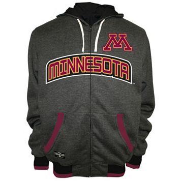 Men's Franchise Club Minnesota Golden Gophers Power Play Reversible Hooded Jacket