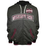 Men's Franchise Club Mississippi State Bulldogs Power Play Reversible Hooded Jacket