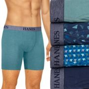 Men's Hanes Ultimate 4-pack Tagless Stretch Boxer Briefs