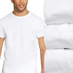Men's Hanes 4-Pack Ultimate Stretch Crewneck Tees