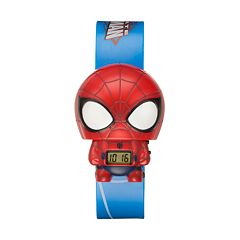 BulbBotz Kids' Spider-Man Digital Light-Up Watch