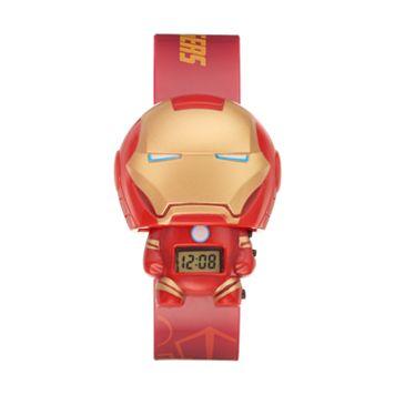 BulbBotz Kids' Iron Man Digital Light-Up Watch