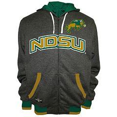 Men's Franchise Club North Dakota State Bison Power Play Reversible Hooded Jacket