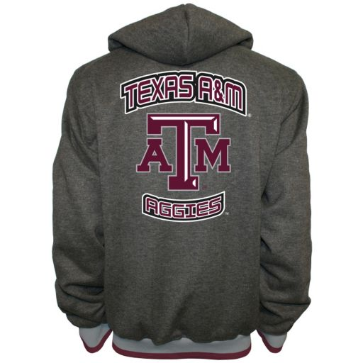 Men's Franchise Club Texas A&M Aggies Power Play Reversible Hooded Jacket