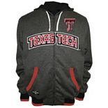 Men's Franchise Club Texas Tech Red Raiders Power Play Reversible Hooded Jacket