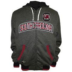 Men's Franchise Club South Carolina Gamecocks Power Play Reversible Hooded Jacket