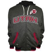 Men's Franchise Club Utah Utes Power Play Reversible Hooded Jacket
