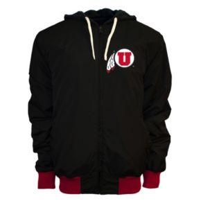 Men's Franchise Club Utah Utes Power Play Reversible Hooded Jacket