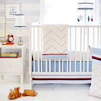 My Baby Sam First Mate 3 pc Crib Bedding Set