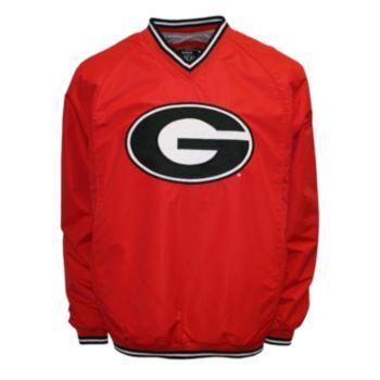 Men's Franchise Club Georgia Bulldogs Elite Windshell Jacket