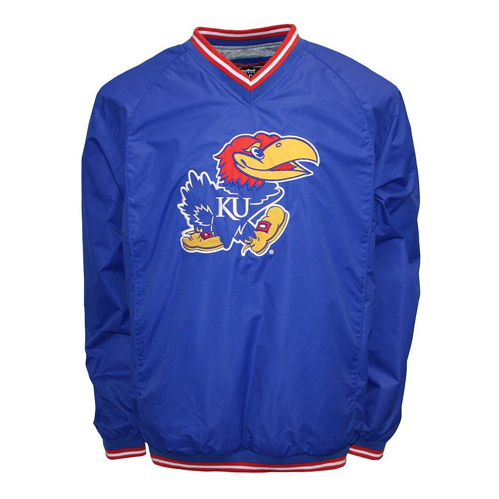 Men's Franchise Club Kansas Jayhawks Elite Windshell Jacket