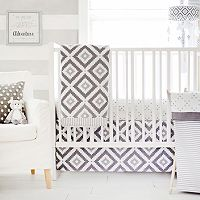 My Baby Sam Imagine Geometric 3 pc Crib Bedding Set
