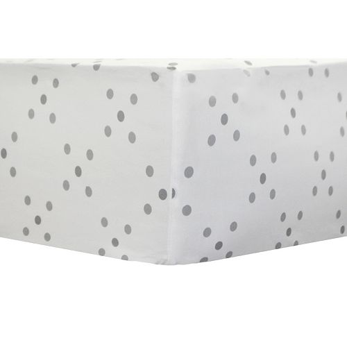 My Baby Sam Imagine Geometric Dotted Crib Sheet