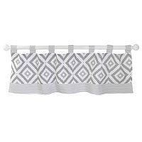 My Baby Sam Imagine Geometric Window Valance