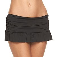 Women's Apt. 9® Ruched Skirtini Bottoms