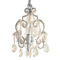 Sleeping Partners 3-Bulb Mini Chandelier - White