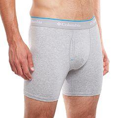 Men's Columbia 2-pack + 1 Bonus Omni-Wick Stretch Cotton Boxer Briefs