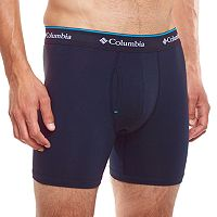 Men's Columbia 2-pack + 1 Bonus Omni-Wick Stretch Cotton Boxer Briefs