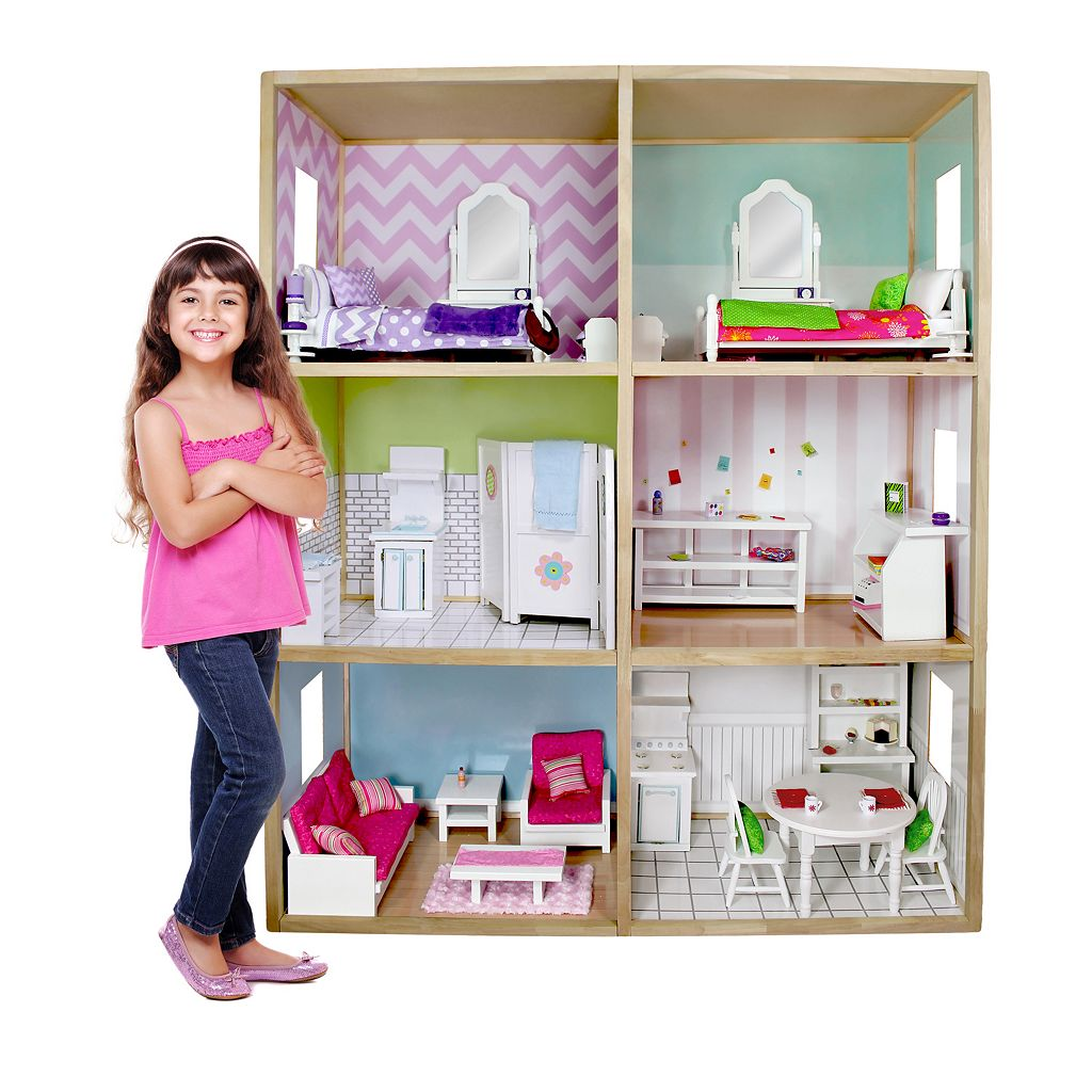 My Girl Modern Style Dollhouse for 18-in. Dolls