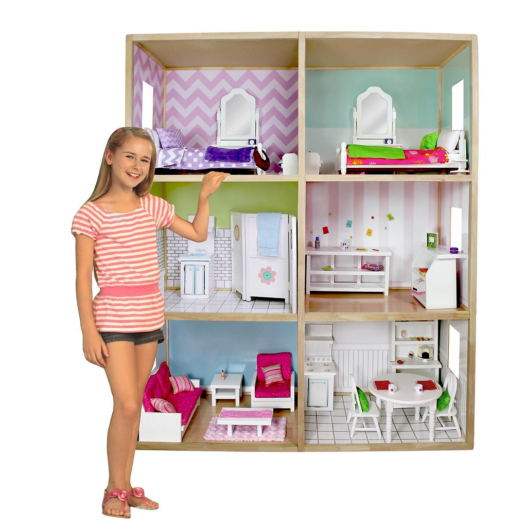 My Girl Modern Style Dollhouse for 18-in. Dolls