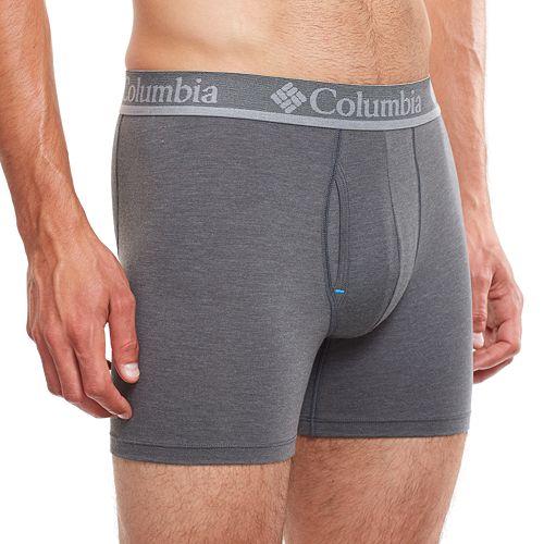 Men's Columbia 2-pack Omni-Wick Stretch Performance Boxer Briefs