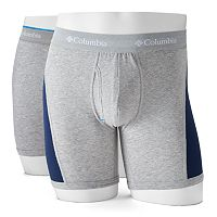 Men's Columbia 2-pack Omni-Wick Stretch Performance Boxer Briefs