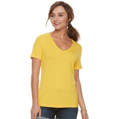 Women's Apt. 9® Essential V-Neck Tee