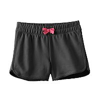 Girls 4-10 Jumping Beans® Dolphin-Hem French Terry Shorts