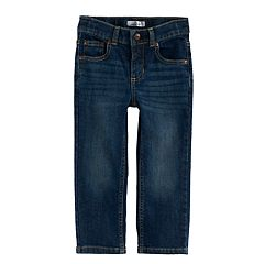 Toddler Boy Jumping Beans® Straight Leg Dark Wash Jeans
