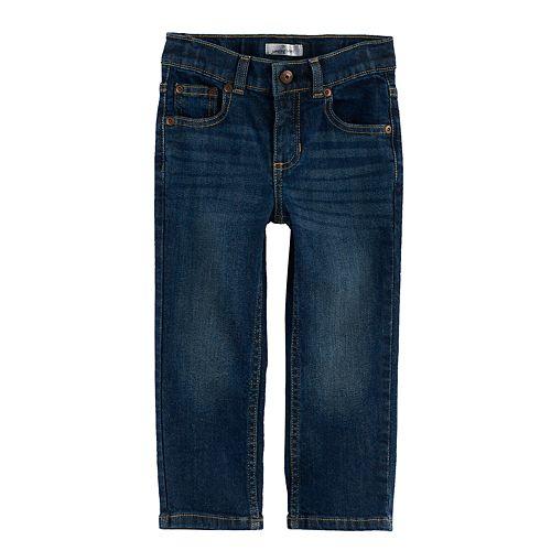 Toddler Boy Jumping Beans® Straight Leg Dark Wash Jeans