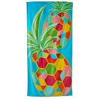 Jumping Beans Pineapple Beach Towel