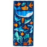 Jumping Beans Sea Creatures Beach Towel