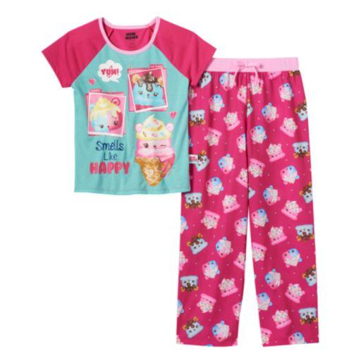 Girls 4-10 Num Noms Candie Puffs, Van Minty & Connie Confetti Scented Pajama Set