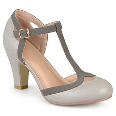 9d0589254f4 Journee Collection Olina Women s Mary Jane Heels