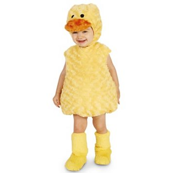 Toddler Yellow Duckling Costume