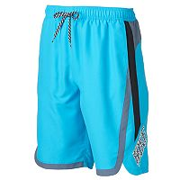 Men's Nike Beacon Colorblock Water Shedding Volley Shorts