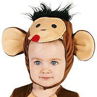 Baby Monkeyin' Monkey Costume