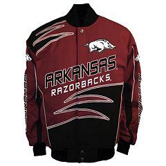 Men's Franchise Club Arkansas Razorbacks Shred Twill Jacket