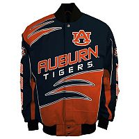 Men's Franchise Club Auburn Tigers Shred Twill Jacket