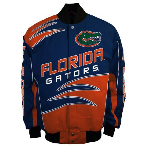 Men's Franchise Club Florida Gators Shred Twill Jacket