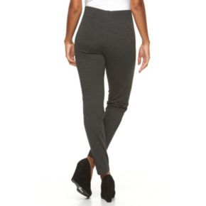 Women's Croft & Barrow® Pull-On Skinny Ponte Pants