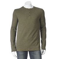 Men's SONOMA Goods for Life™ Heathered Thermal Henley