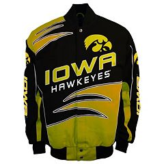 Men's Franchise Club Iowa Hawkeyes Shred Twill Jacket