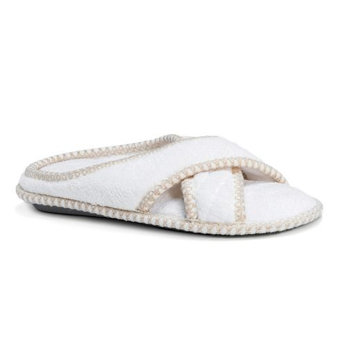 MUK LUKS Ada Women's Criss-Cross Slippers