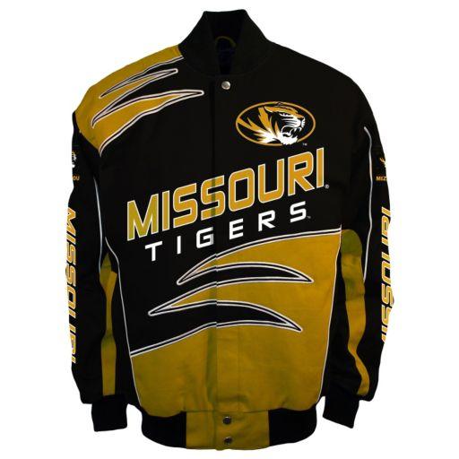 Men's Franchise Club Missouri Tigers Shred Twill Jacket