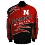 Men's Franchise Club Nebraska Cornhuskers Shred Twill Jacket
