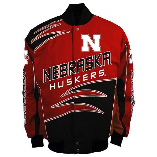 Men's Franchise Club Nebraska Cornhuskers Shred Twill Jacket